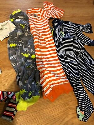 Bundle Of 21 Baby Boy Clothes 6-9 Months