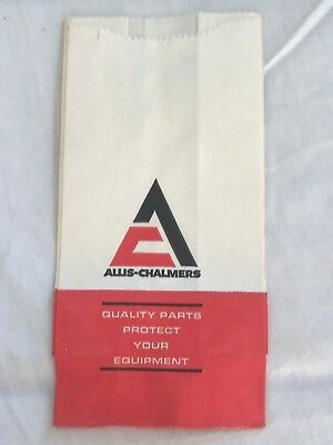 Vintage Allis Chalmers Parts Bag NOS New late 70's 80's
