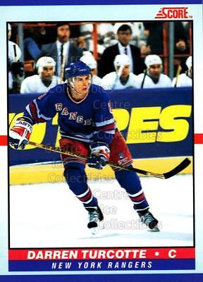 1990-91 Score Young Superstars #16 Darren Turcotte