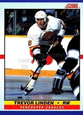 1990-91 Score Young Superstars #19 Trevor Linden