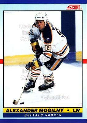 1990-91 Score Young Superstars #26 Alexander Mogilny