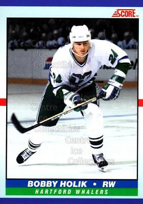 1990-91 Score Young Superstars #34 Bobby Holik