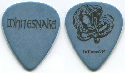 Whitesnake-Very Rare Reb Beach/joel Hoekstra  Tour Guitar Pick! Coiled Snake!
