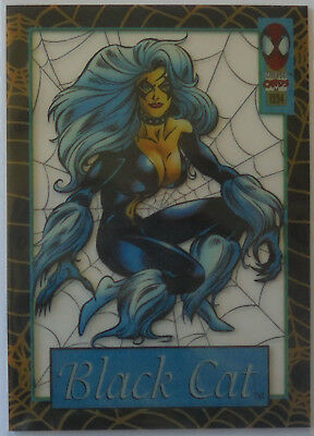 1994 Amazing Spiderman Suspended Animation Trading Cards #11 Black Cat