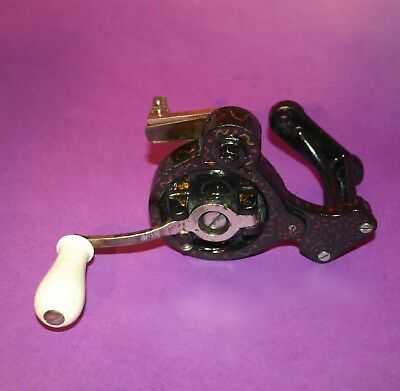 1890 Original Antique Hand Crank Device Singer Gritzner Sewing Machines Working