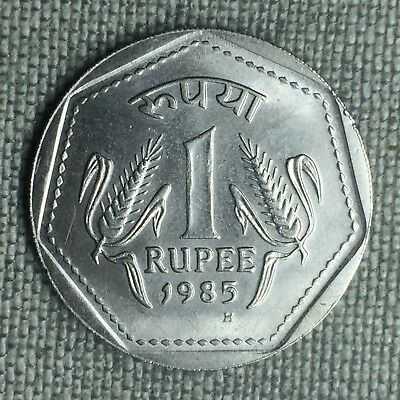 India-Republic Rupee, 1985 H - 1173