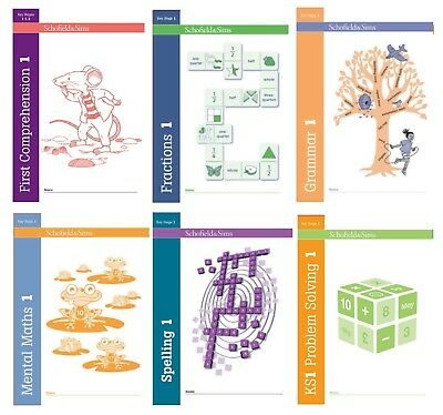 New, collection of Workbooks Fraction,Mental Maths,problem solving,comprehension