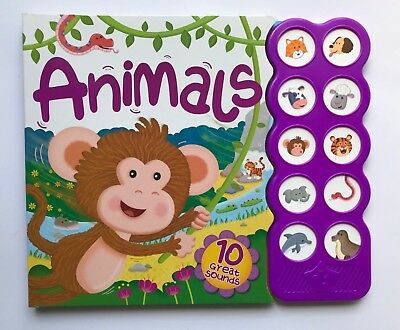 Animals 10 Super Vehicles Sounds For kids Age 0 Month+ Babies New Christmas Gift