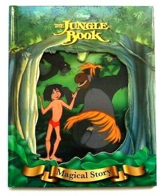 Disney Jungle Book Magical Story with 3dMoving Picture Cover, For Kids Age 3+ yr