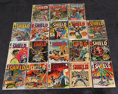 Nick Fury Agent Of Shield 1 2 3 4 5 6 7 8 9 10 11 12 13 14 15 16 17 18 Steranko