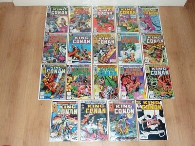 King Conan - Conan The King #1 to #55 - Marvel 1980 - FN to NM - Complete Set