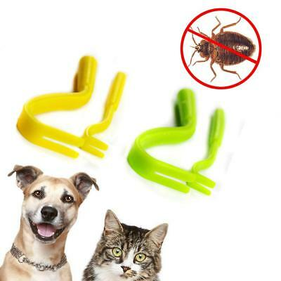 Pet Tick Twister Remover Removal Tool Hook For Pets Cat Dog  (2 Pcs)