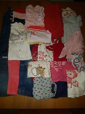 Girls Clothes Bundle 6-9 Months John Rocha Next F&F TU H&M Boots Miniclub