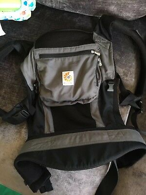 Ergo Baby Performance Active Carrier Black, Excellent Clean Condition