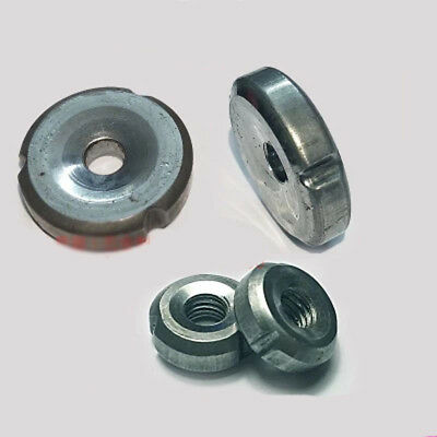 M6 Welding Nut In-tube Nut 25 tubes Cold Round Iron Inner tooth Nuts