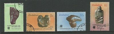 1983 Commonwealth Day - Sculptures  set 4 Fine Used