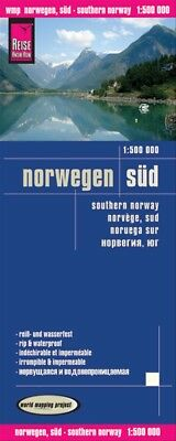 Reise Know-How Landkarte Norwegen Süd 1 : 500 000 - Peter Rump Verlag