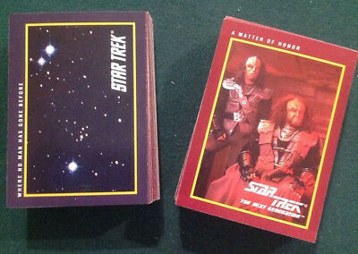 1991 Impel: Star Trek 25th Anniversary Complete  Series I  (149  base cards)