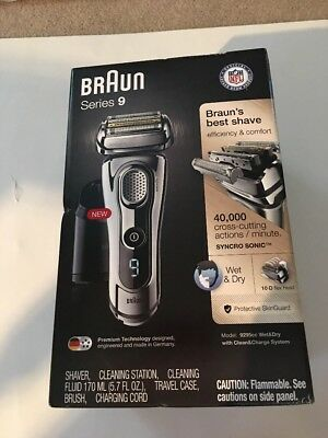 BRAUN Series 9 9095CC Wet & Dry Men's Electric Shaver