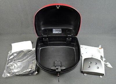 New Genuine Gilera Nexus 500, Top Box 28L, Dragon Red  602795M0R7