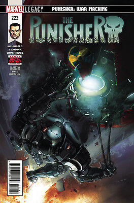 The Punisher #222 Marvel Legacy - 2017 - 1St Print Bagged Boarded. Free Uk P+P