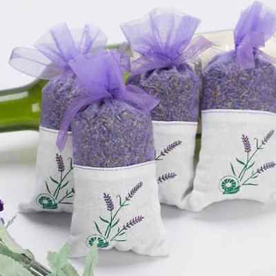 Real Lavender Organic Dried Flower Sachets Bud Bloom Bag Scent Fragrance