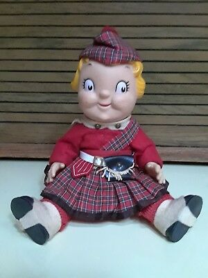 Vintage Campbell Soup Doll All Original Clothes 1960's From Scotland Christmas