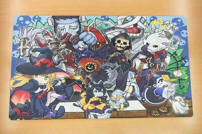 E978 FREE MAT BAG Yugioh Ghostrick Playmat 2 Versions With Or Without Zones