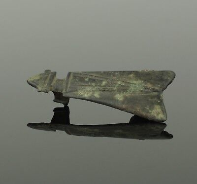 "Ancient Roman Bronze Zoomorphic Brooch  ""Fly"" - Circa 2Nd Century Ad"