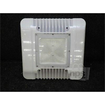 LED Drop Lens Canopy Light, 150W, 100-277VAC, 5700K, White HD-CP01-150WD