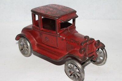 1920's AC Williams Cast Iron Model T Ford Coupe, Original