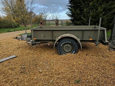 RARE Universal Engineering army military 2T trailer not sankey Pinz Land Rover
