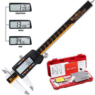 NEW Stainless Steel CD-6-150 Electronic Digital Vernier Caliper 0-6 Inch/150mm