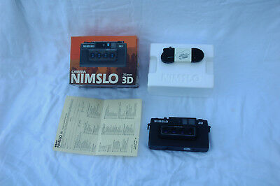 Nimslo Quadra 3D 35mm film Camera with original box