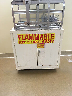 "3' Flammable Laboratory Storage Cabinet 36"" tall"