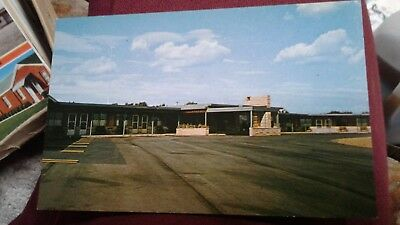 Vintage Postcard Jonnel Motel Alliance  Ohio