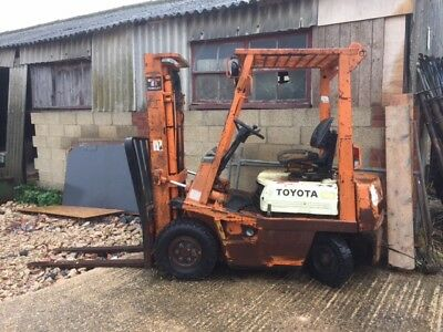 Toyota Forklift - Spares or repair