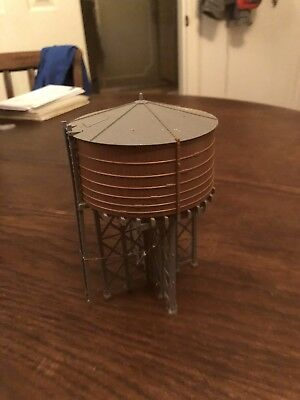 HO scale RAILROAD WATER TOWER / TANK for Model Train Layouts & Displays