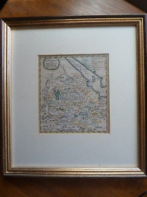 Robert Morden: Original Coloured Map of Ethiopia