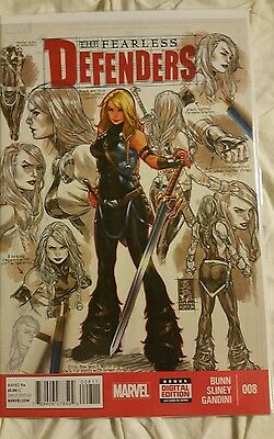 Fearless Defenders (2013) #8 Ellie Cover Marvel Comic Book NM+