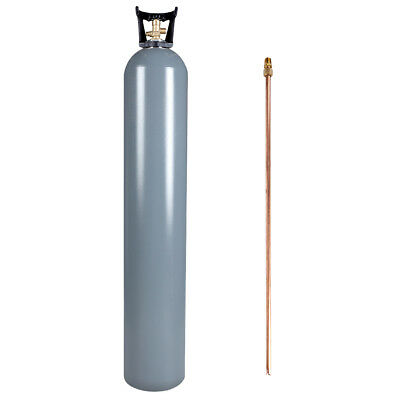 50 lb Reconditioned Aluminum CO2 Cylinder w/ Siphon Tube & Valve - Free Shipping