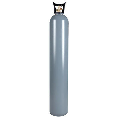 50 lb Reconditioned Aluminum CO2 Cylinder CGA320 Valve - Free Shipping