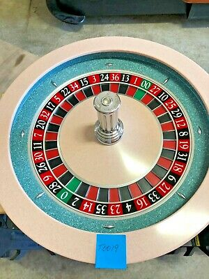 32 Inch Paulson  Roulette Wheel (Used) #T0018 Single 0 00