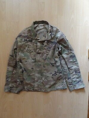 US Army Multicam FR Combat Uniform ACU Coat Jacke Jacket MR Medium Regular