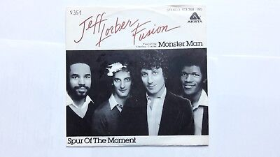 "7"" Jeff Lorber Fusion feat. Stanley Clarke - monster man / spur of the moment"