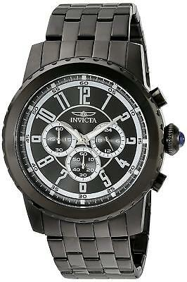 Invicta 19466 Specialty Men's Chronograph 50mm Black-Tone Steel Black Dial Watch