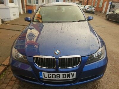BMW 330I SE, auto (tip-tronic paddle shift), Petrol, Blue, spares or repair,