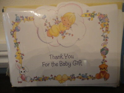 Thank You For the Baby Gift - 16 Thank You Notes & Envelopes