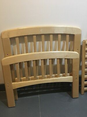 John Lewis cot bed with Mattress from new