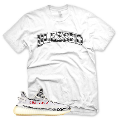 ddbeb696fc7a6 New BW BLESSED T Shirt for Adidas Yeezy 350 V2 Zebra Butter Beluga Mauve